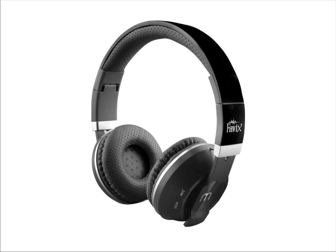 Fone Favix B09 Bluetooth Sem Fio Ouvido Sd Card Fm Ultra Bass P/ Celular Iphone Samsung Windows  - HARDFAST INFORMÁTICA