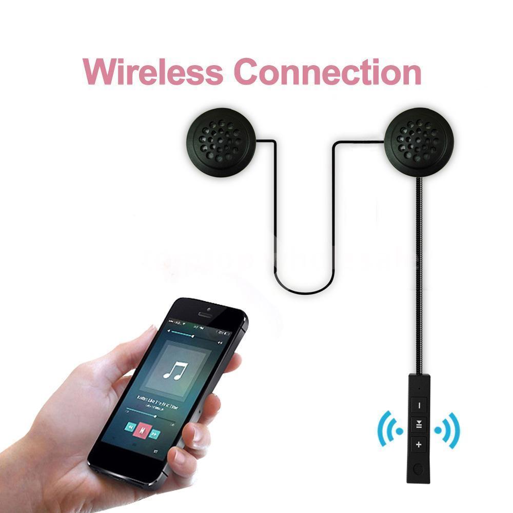 Fone Ouvido Capacete Moto sem Fio Bluetooth Hi-Fi Viva voz Gps Musicas  - HARDFAST INFORMÁTICA