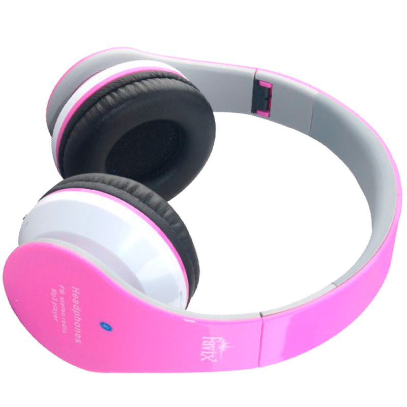 Fone Ouvido Favix B01 Headset Sem Fio FM Sd Card Rosa Bluetooth  - HARDFAST INFORMÁTICA