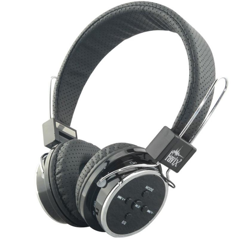 Fone Ouvido Favix B05 Sem Fio Bluetooth Sd Card Fm Preto Slim Fit Sem Led  - HARDFAST INFORMÁTICA