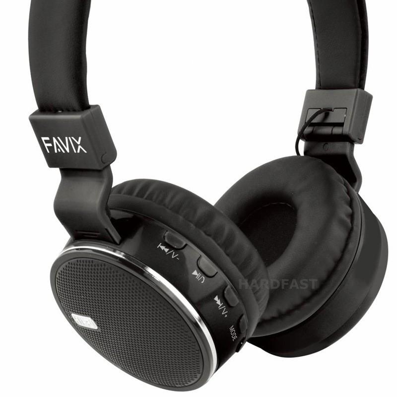 Fone Ouvido Favix B19 Cores Bluetooth Sem Fio Radio Fm Stereo Up Bass B-19  - HARDFAST INFORMÁTICA
