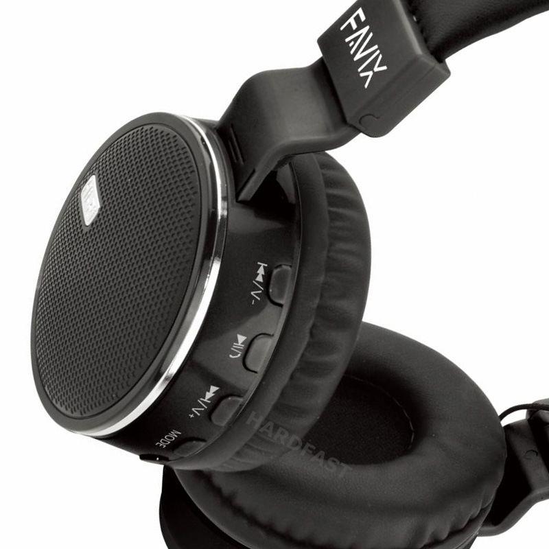 Fone Ouvido Favix B19 Bluetooth Sem Fio Radio Fm Stereo Up Bass B-19  - HARDFAST INFORMÁTICA