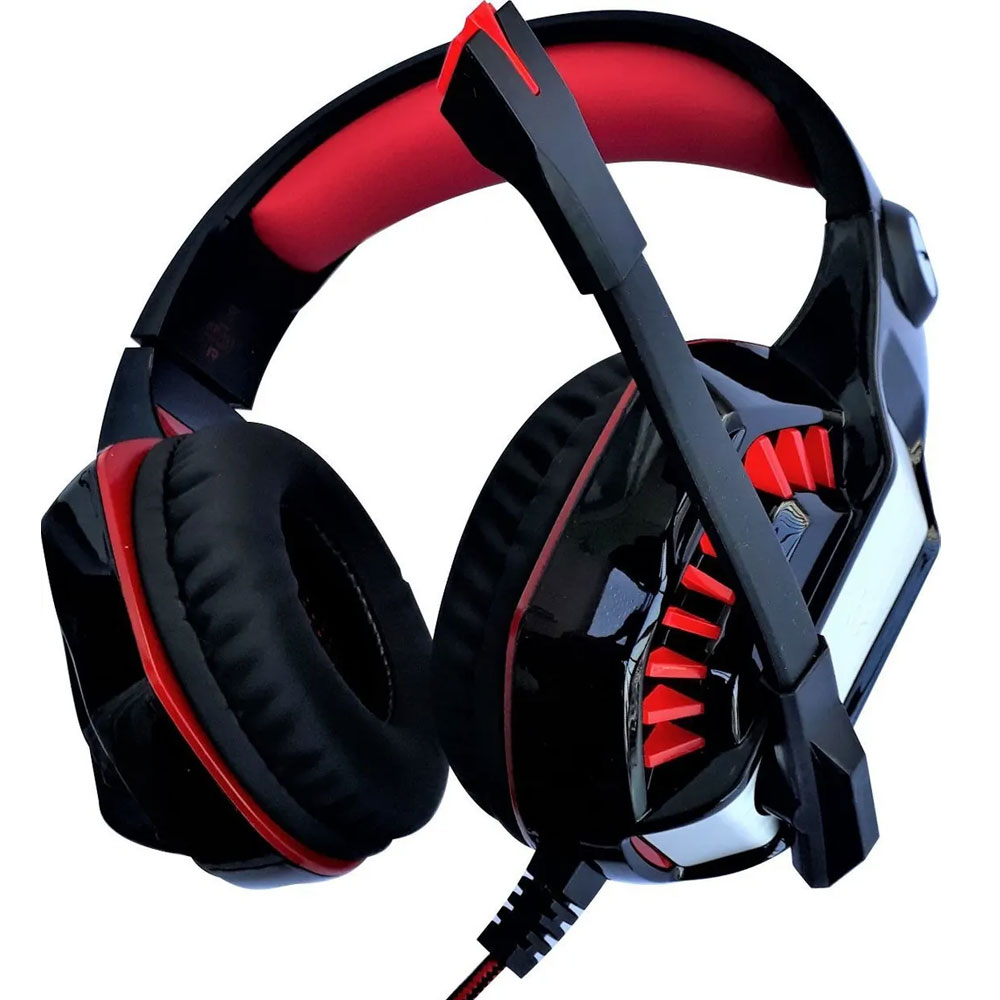 Fone Ouvido Headset Gamer P2 Usb Xbox Play Ps4 Pc Notebook Led  - HARDFAST INFORMÁTICA