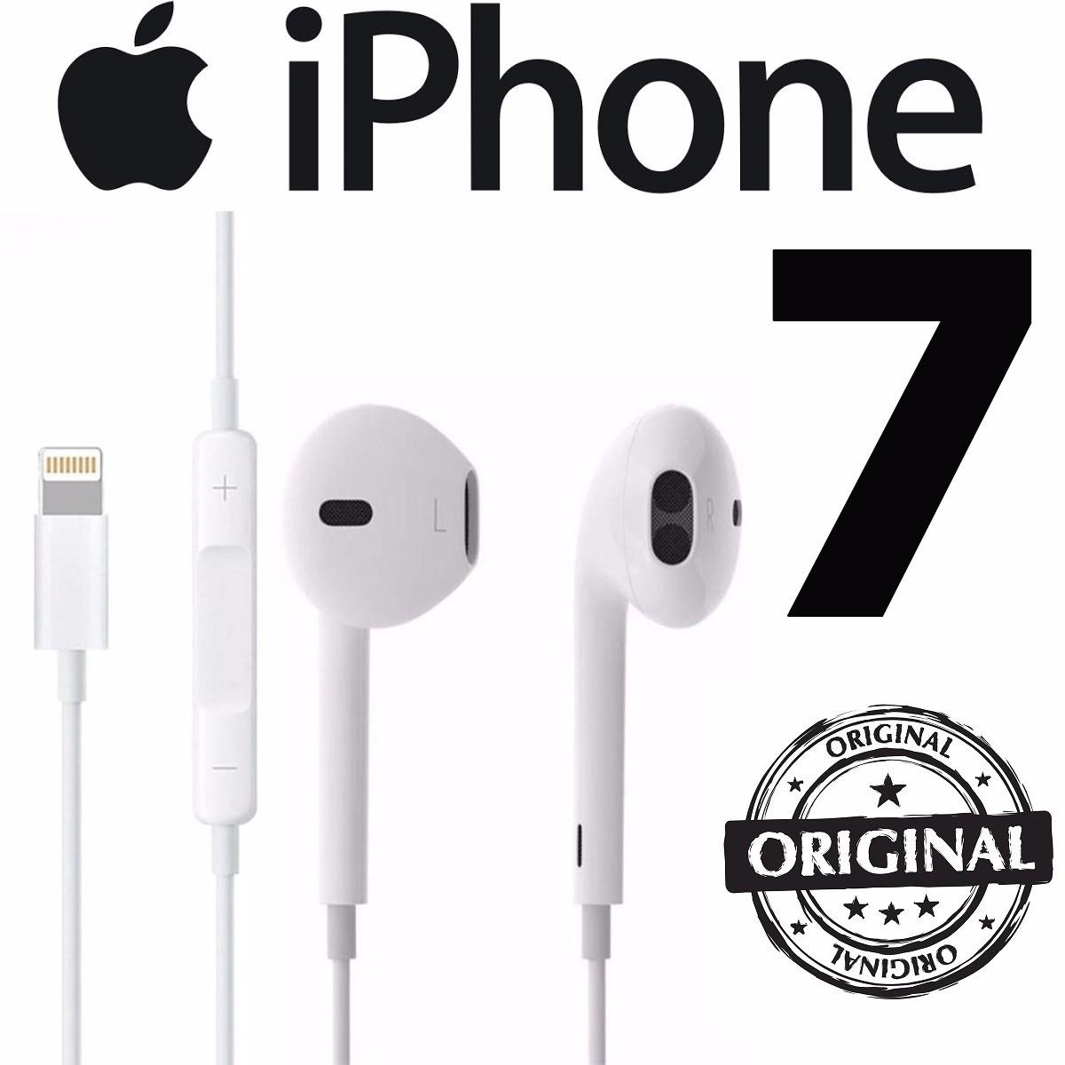 Fone Ouvido Original Apple Iphone 7 8 X 10 Earpods Lightning  - HARDFAST INFORMÁTICA