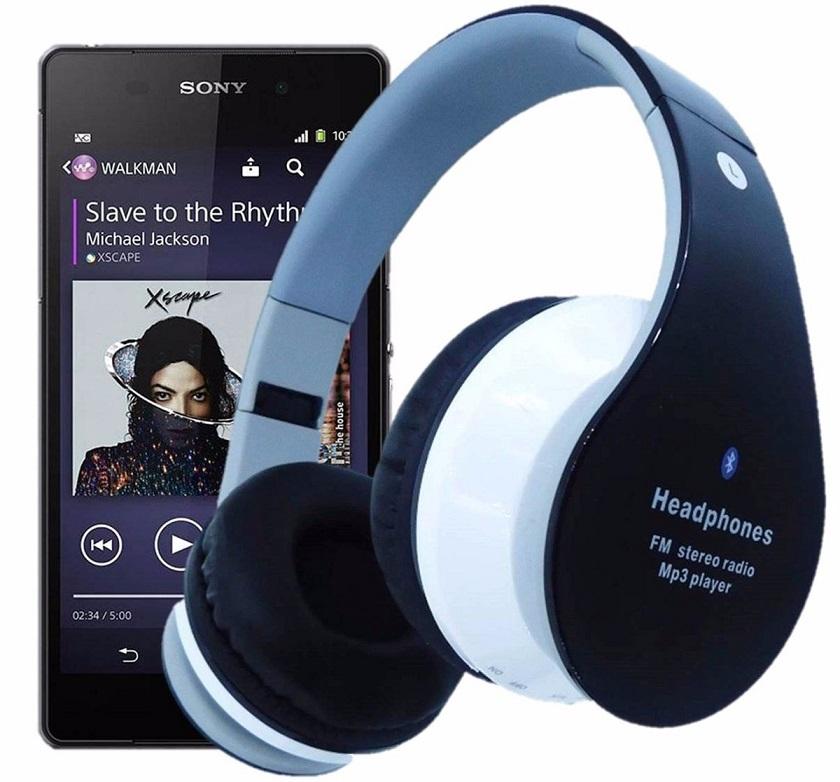Fone Ouvido Sem Fio Favix B01 Bluetooth Fm Sd Card Fx-b01 Hi-Wi Mega Bass  - HARDFAST INFORMÁTICA