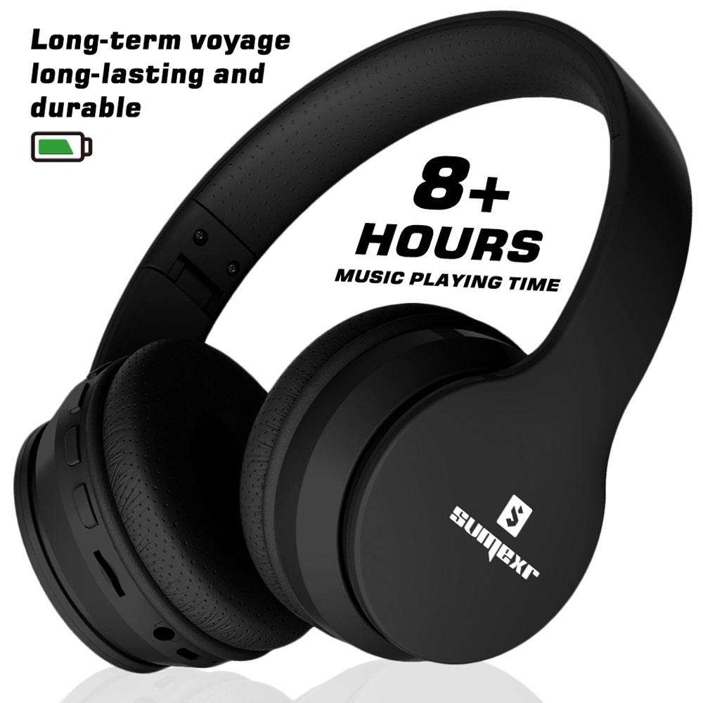 Fone Ouvido Sumexr B01 Pro Sem Fio Bluetooth Stereo SlickBass  - HARDFAST INFORMÁTICA