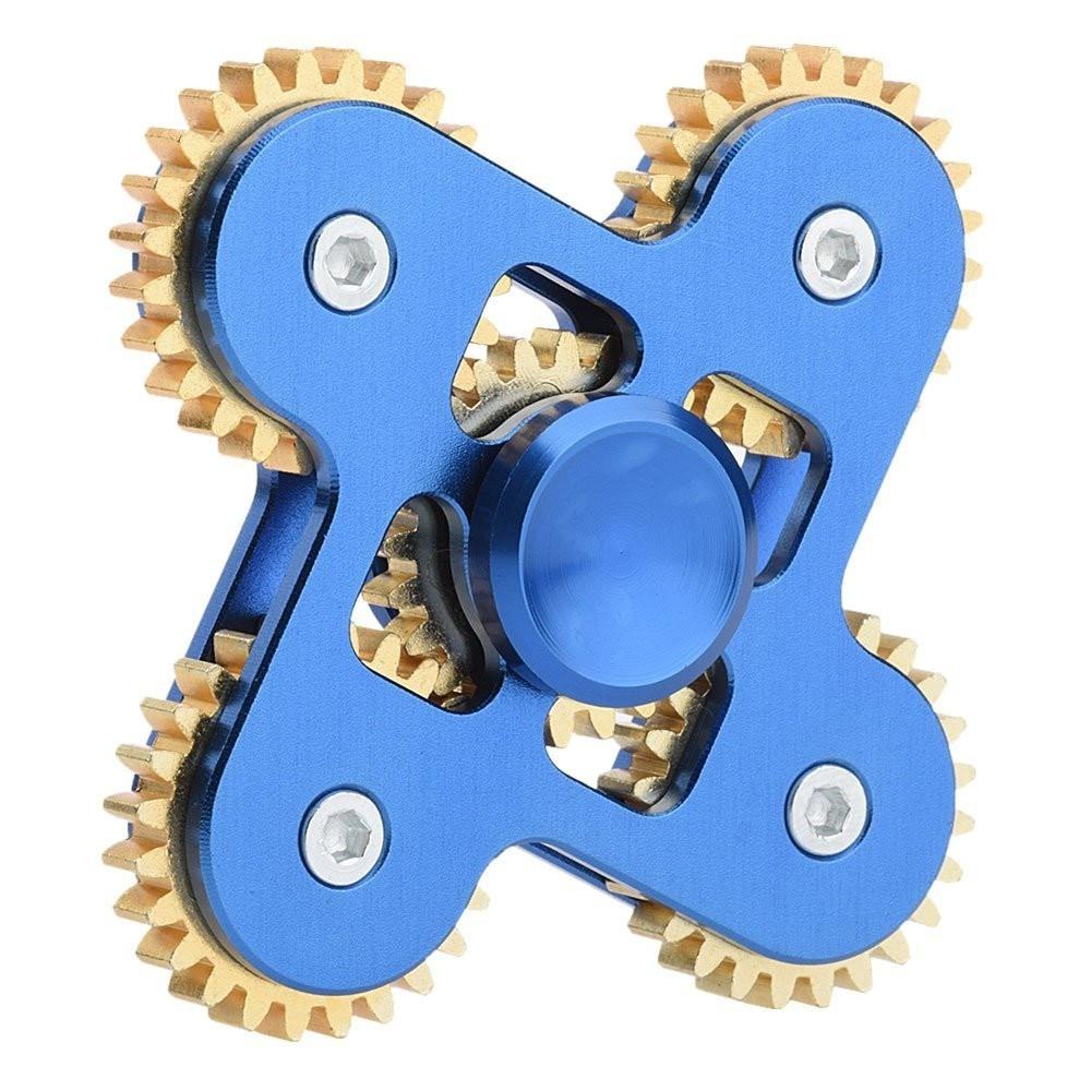 Hand spinner Engrenagem v4 Raro Metal Rolamento 5 cores  - HARDFAST INFORMÁTICA