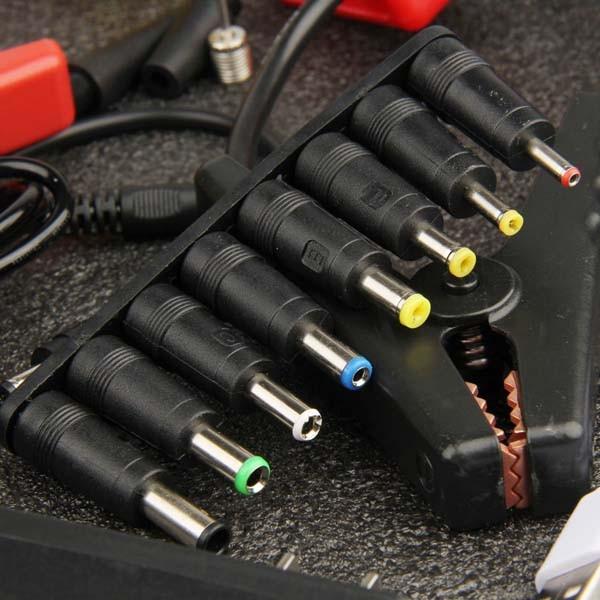 Jump Starter Carregador Bateria Auxilar Carro Moto + Compressor AR Celular Barco Jetski Powerbank  - HARDFAST INFORMÁTICA