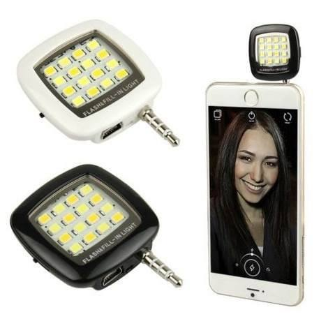 Led Flash Celular Smartfone Selfie Iphone Galaxy Lumia Xperia  - HARDFAST INFORMÁTICA