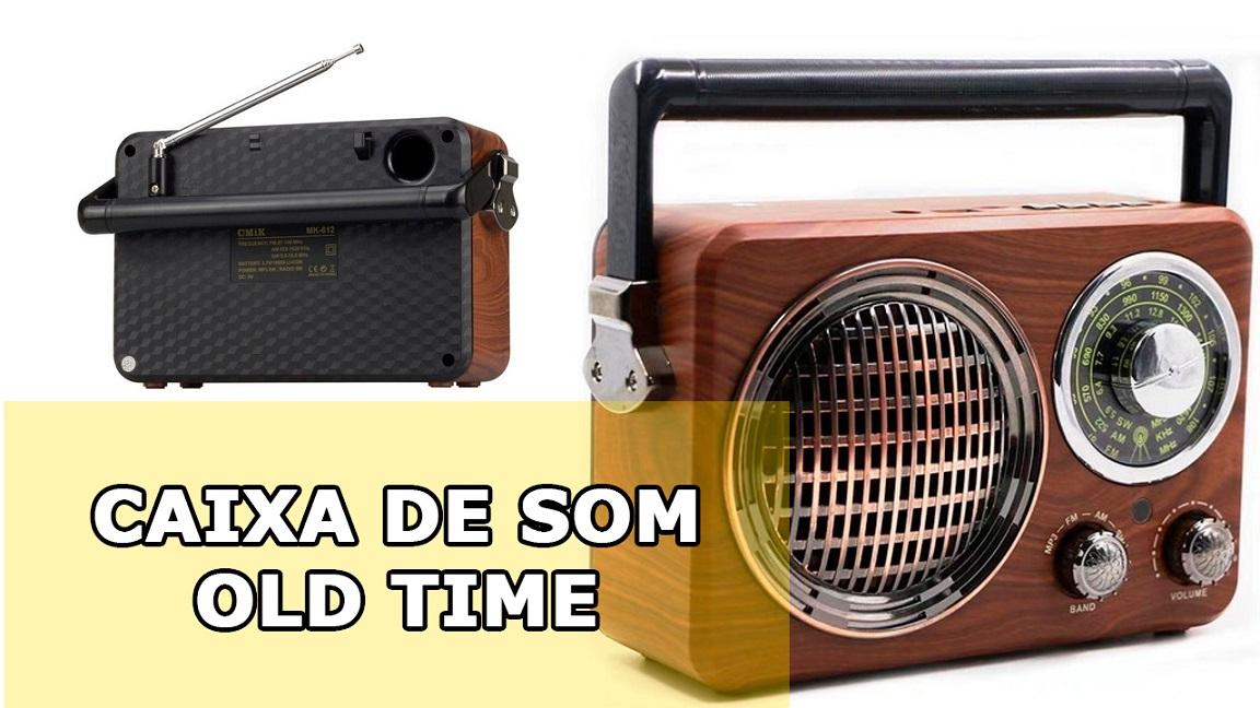 Micro System Amplificado Vintage Antigo Retro Fm Am Usb mp3 Caixa Som Forte 80w Pmpo Wlxy  - HARDFAST INFORMÁTICA