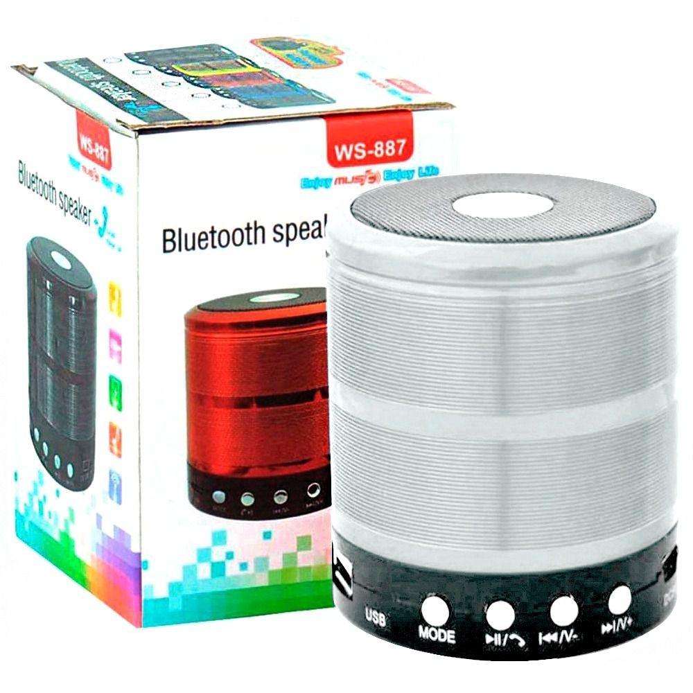 Mini Caixa Caixinha Som Portátil Bluetooth Mp3 Fm Sd Usb Wi  - HARDFAST INFORMÁTICA