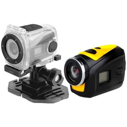 Mini Camera Sport Cam Hd 720p Bike Moto Capacete Prova Agua T182 Video Foto Audio - HARDFAST INFORMÁTICA