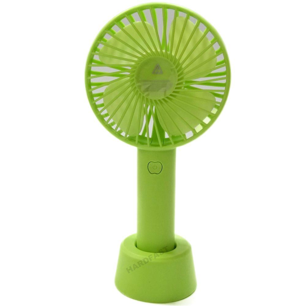 Mini Ventilador Mão Mesa Portátil Recarregável Silencioso WeiTus Favix  - HARDFAST INFORMÁTICA
