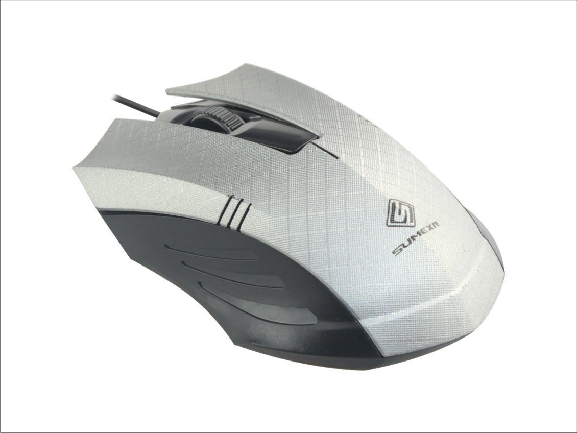 Mouse Optico 3D SumeXR Fx-79 1200Dpi Usb Scroll 1.4M Cabo Varias Cores  - HARDFAST INFORMÁTICA
