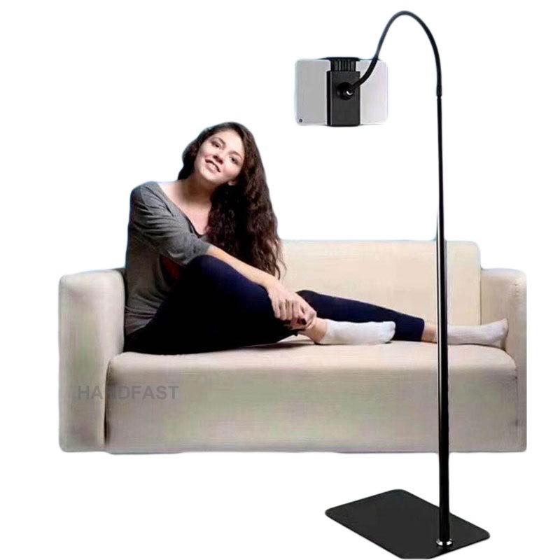 Pedestal suporte para tablet Celular Tripe Chão Piso Articulado WLXY-MT07 Preguiçoso  - HARDFAST INFORMÁTICA