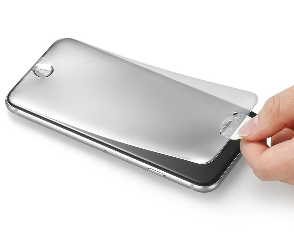 Película Iphone X 10  Gel Silicone Melhor Q Vidro Flex Top  - HARDFAST INFORMÁTICA