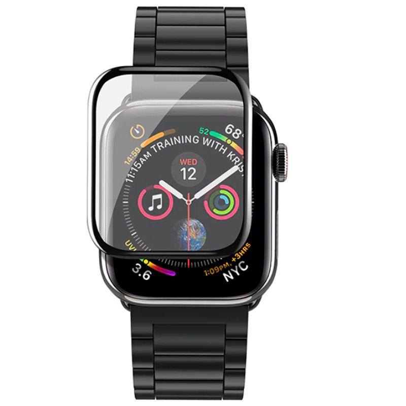 Pelicula Nano Gel Apple Watch Todos Modelos 6d Bordas Full  - HARDFAST INFORMÁTICA