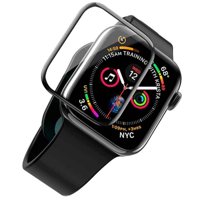 Pelicula Nano Gel Apple Watch Todos Modelos 6d Bordas Full  - HARDFAST INFORMÁTICA