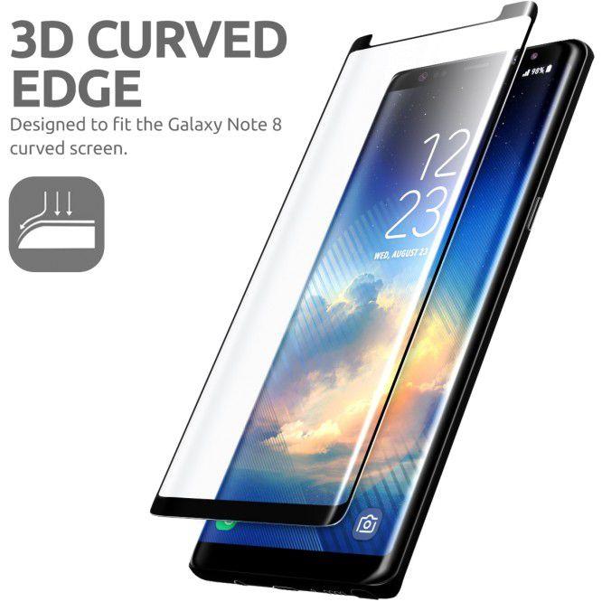Pelicula Samsung Galaxy Note 8 7 3d Vidro Temperado 9h Glass  - HARDFAST INFORMÁTICA