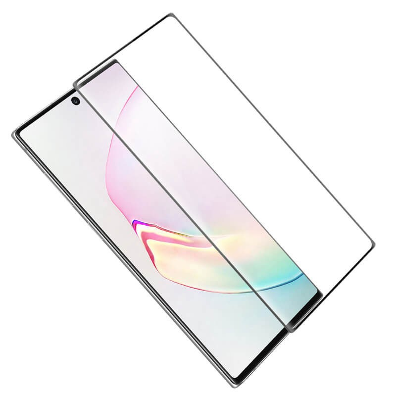 Pelicula Vidro Curvado 3D tela toda S10 S9 S8 Plus Note 8 9 10 Plus  - HARDFAST INFORMÁTICA