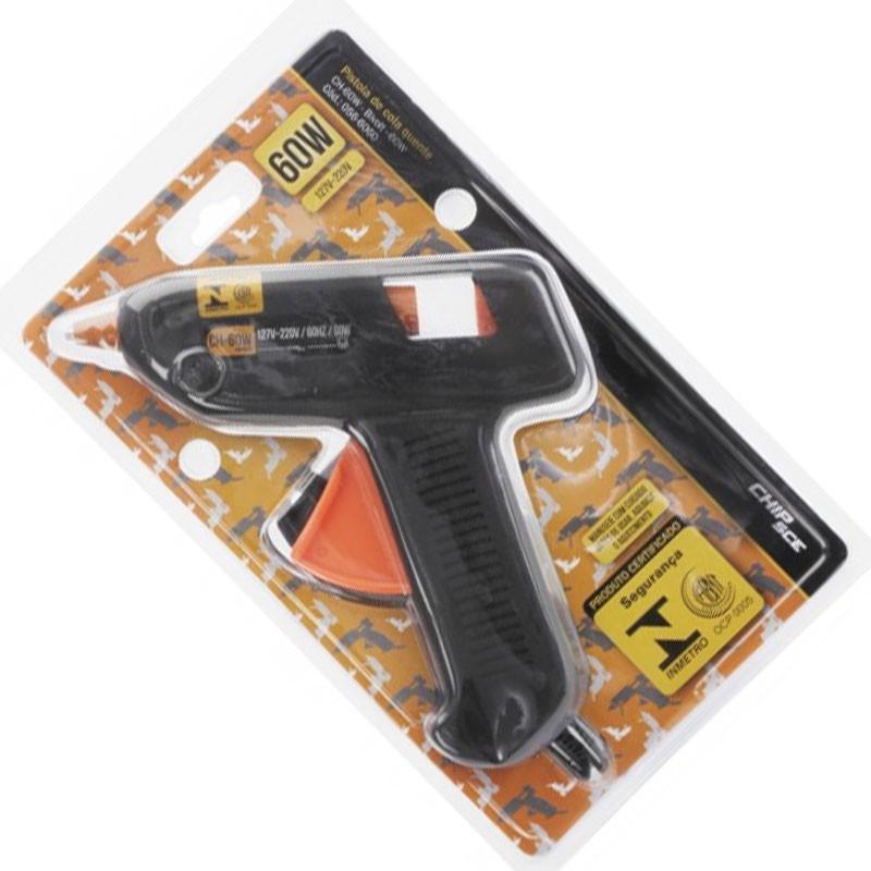 Pistola Cola Quente Profissional 60W Bastão Bivolt 110/220v 11MM Muito Quente  - HARDFAST INFORMÁTICA