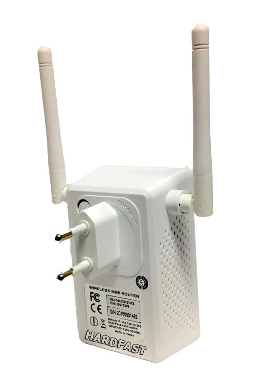 Repetidor Sinal Wifi duas Antenas 10Dbi Ap Roteador Sem Fio Internet 300mbps Wps  Net Vivo Claro  - HARDFAST INFORMÁTICA