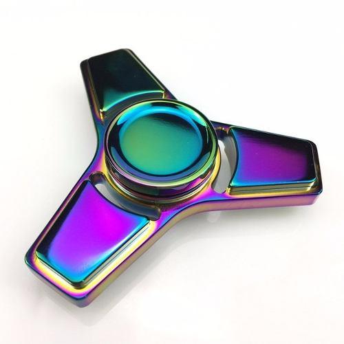 Spiner Spinner Metal Rolamento Abec 15  Cromado Estrela 3 pontas  - HARDFAST INFORMÁTICA
