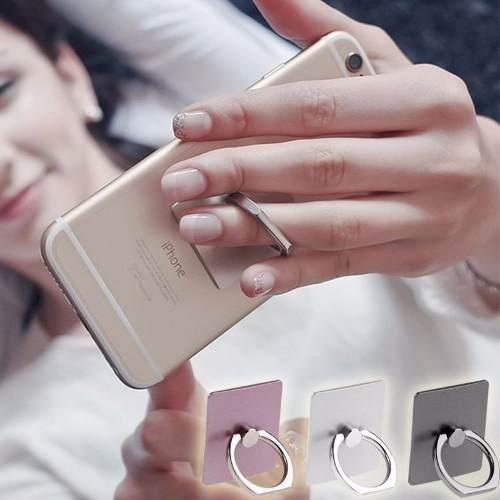 Suporte Anel Ring Com Suporte Hook Para Smartphone Kit 6 Peças Anti Furto Celular Tablet  - HARDFAST INFORMÁTICA