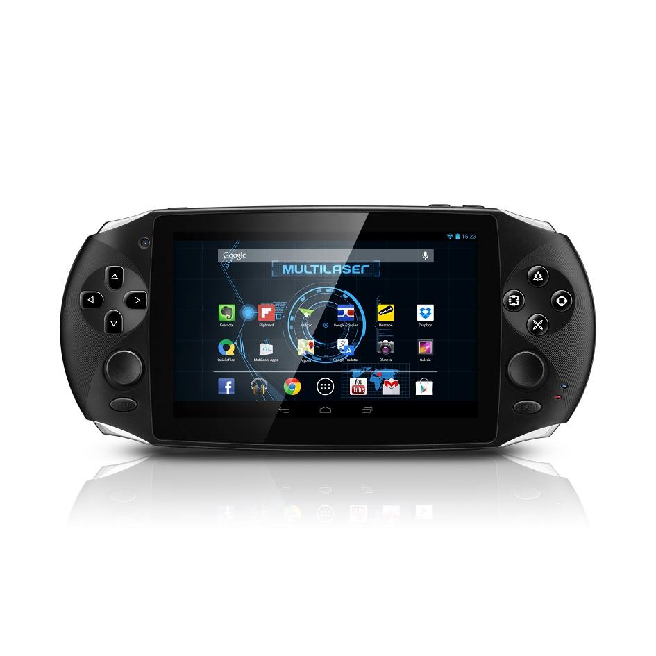 Tablet Gamer Jogos Android Wifi tela 5.0 Dual Core 8GB HDMI Super Mario Emuladores Super Nintendo Mega Drive  - HARDFAST INFORMÁTICA
