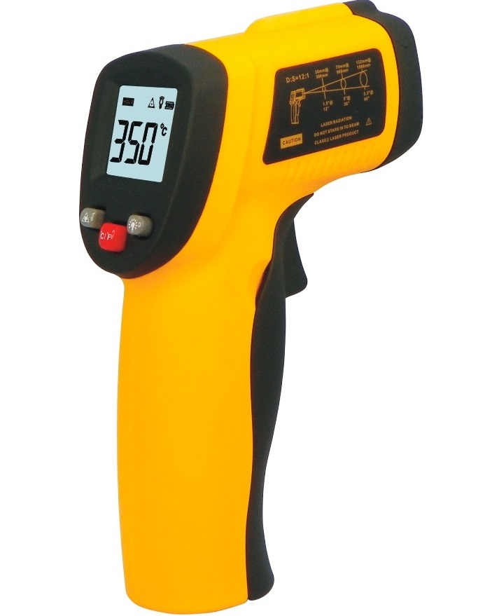 Termômetro Laser Medidor Temperatura Digital Distância 330º  - HARDFAST INFORMÁTICA