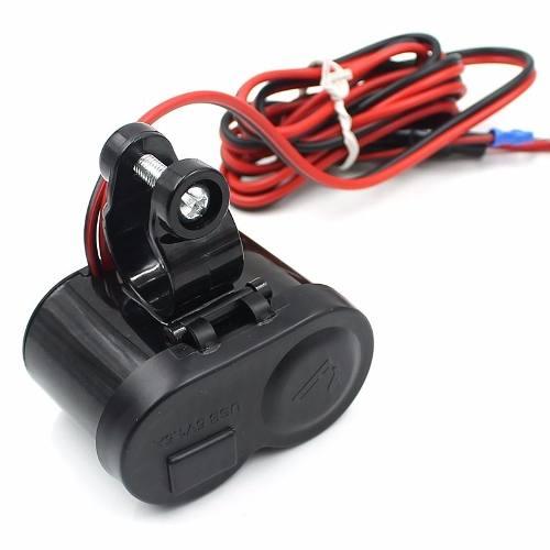 Tomada Usb 12v e 5V P/ Moto Carregador Celular Waze Gps  - HARDFAST INFORMÁTICA