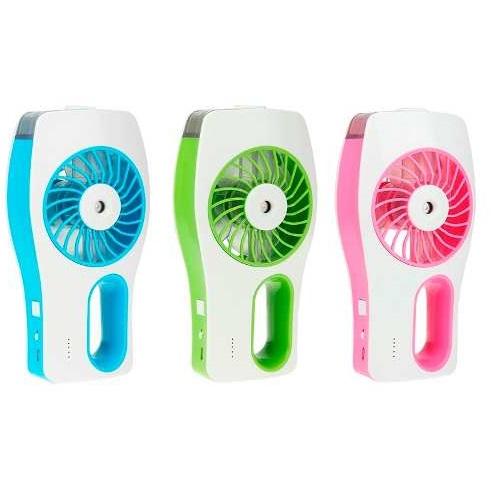 Ventilador Portátil Agua Bateria recarregável Umidificador Agua Climatizador Cores Sortidas  - HARDFAST INFORMÁTICA