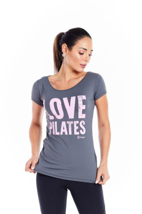 "BLUSA LIGHT- ""LOVE PILATES"""