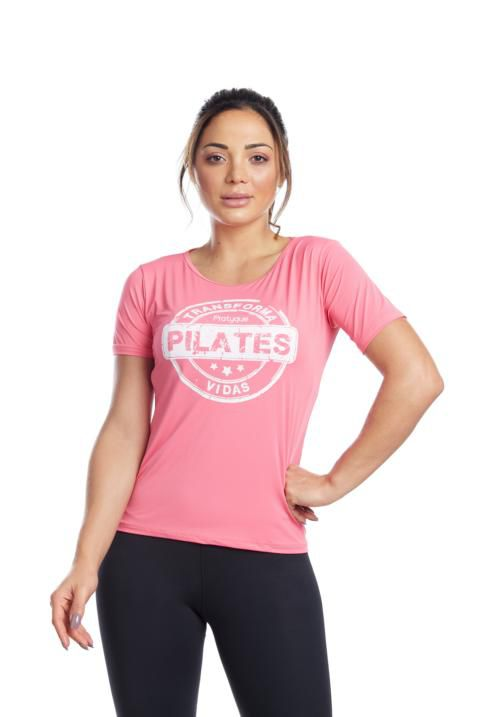BLUSA LONG - PILATES TRANSFORMA VIDAS