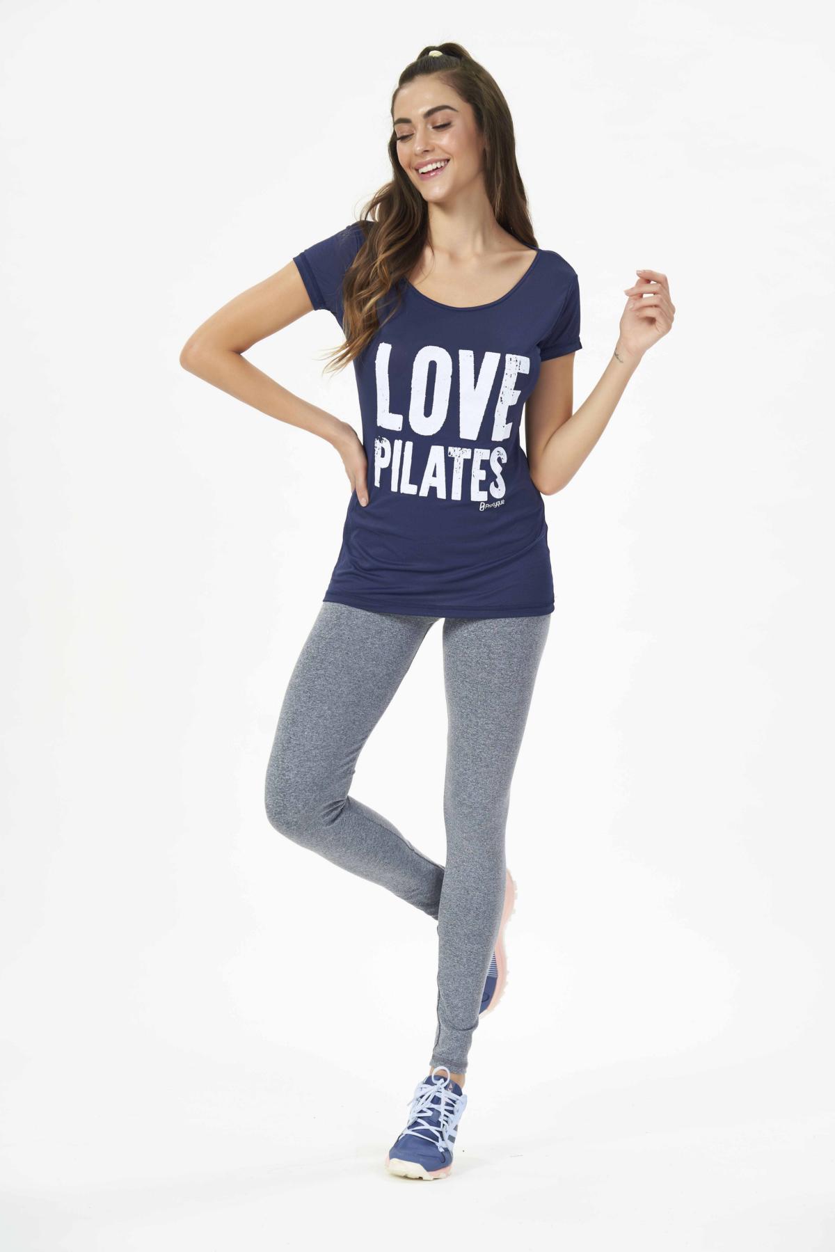 "BLUSA PORUS ""LOVE PILATES"""