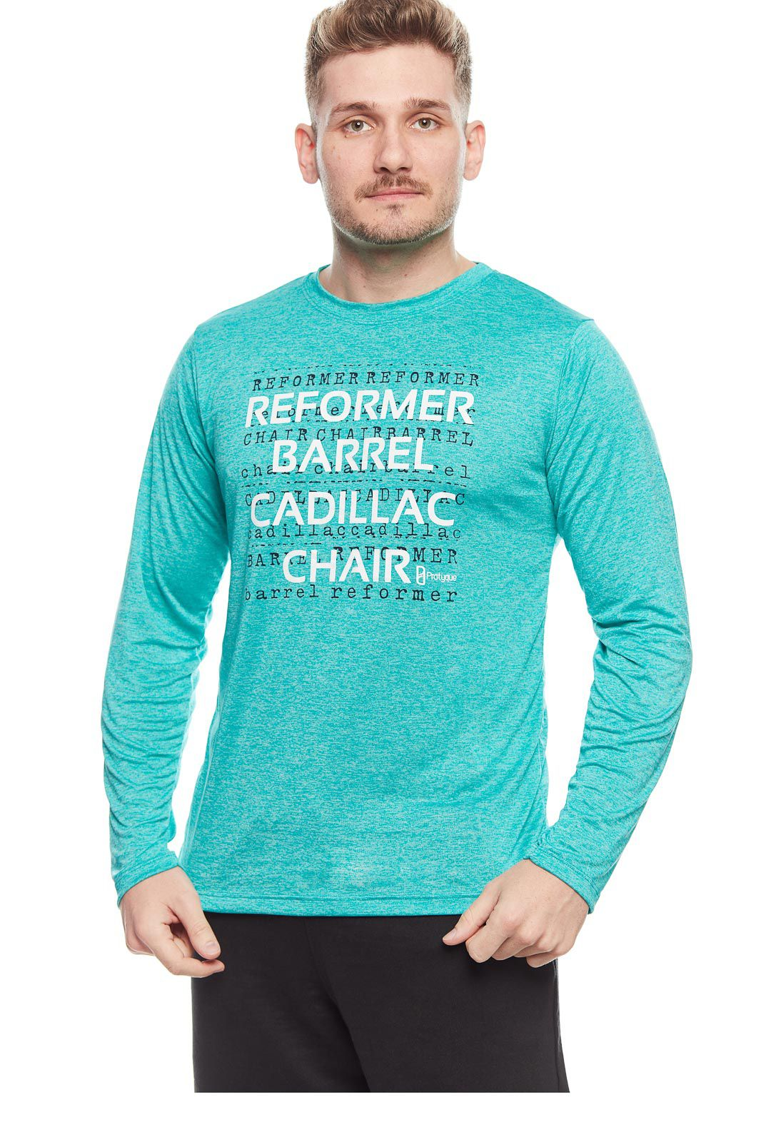 CAMISETA MANGA LONGA IRON - 'REFORMER BARREL CADILLAC CHAIR'