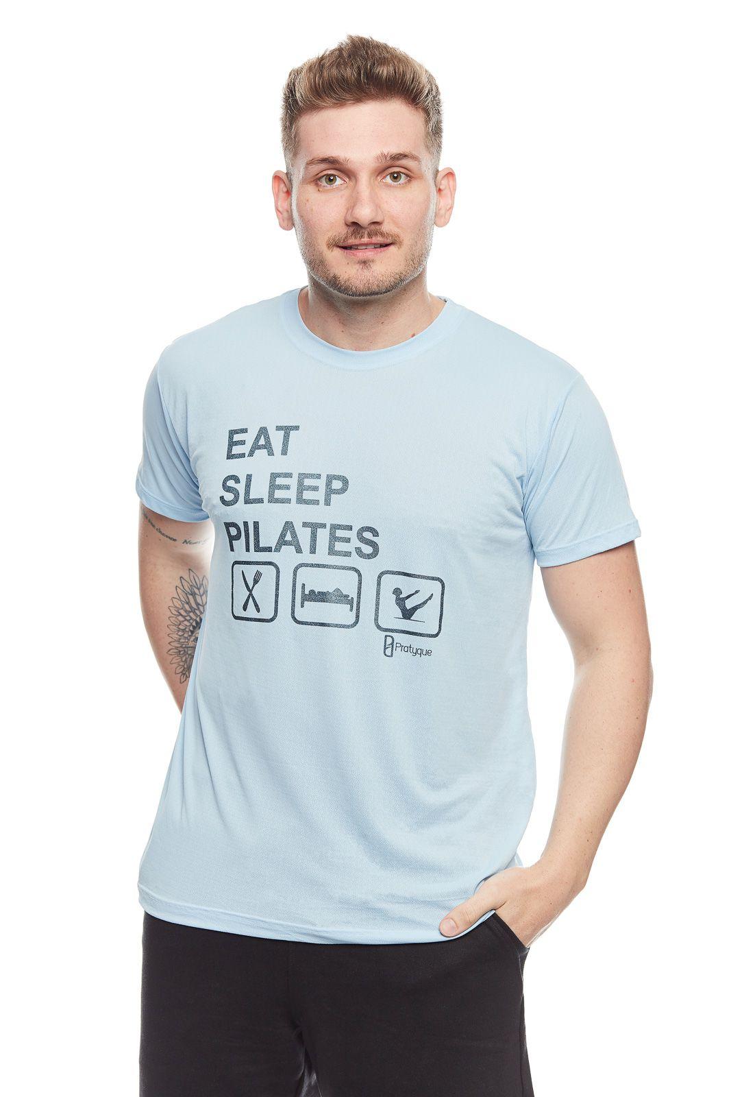 """CAMISETA PORUS """"EAT SLEEP PILATES"""""""
