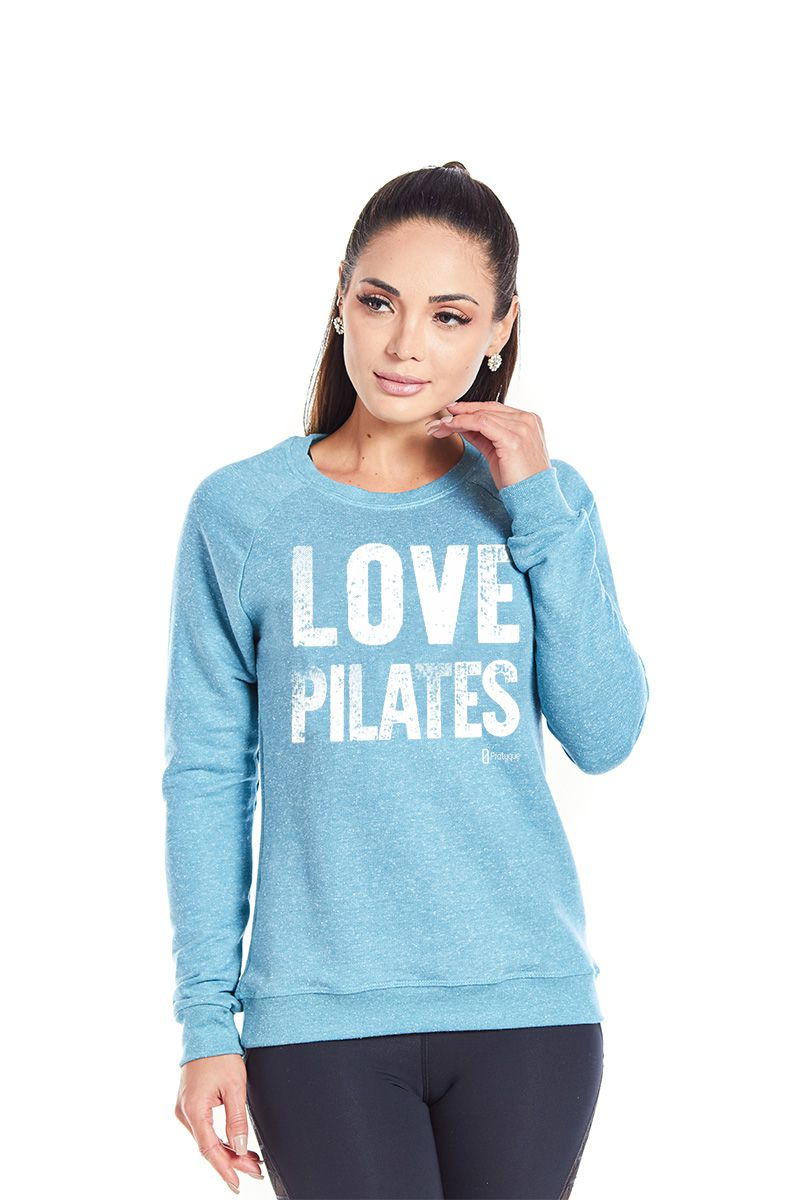 "MOLETOM - ""LOVE PILATES"""