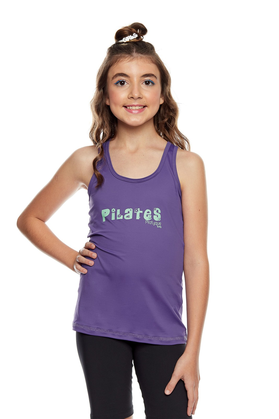 "REGATA INFANTIL ""PILATES FLORES KIDS"""