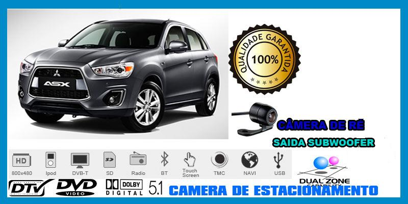 Central Multimidia Mitsubishi ASX - - SONNIC SOUND