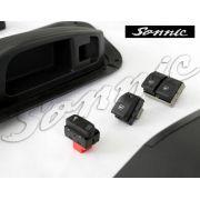 Kit Vidros Eletricos Fox Dianteiros Inteligentes/Sensorizado