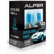 Kit Lampada Alper Crystal Blue Power H8 4200k