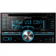 Cd Player Automotivo 2 Din C/ Usb E Aux - Kenwood Dpx 300u