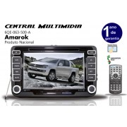 Central Multimidia Original VW Amarok Tela De 7� Com C�mera de R�,