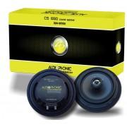 Alto Falante Coaxial Audiophonic Cs 650 6´ 100 RMS (Par)