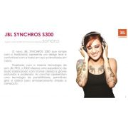 Fone de Ouvido JBL SYNCHROS S300 Para iPhone