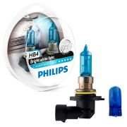 Par de Lâmpadas Philips Crystal Vision Ultra Hb4/9006 Super Branca 4300K