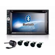 Central Multimídia EVOLVE Tv Gps Câmera Ré + Sensor +Bluetooth