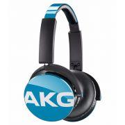 Fone De Ouvido Akg On Ear Y50 (Azul) Harman Do Brasil