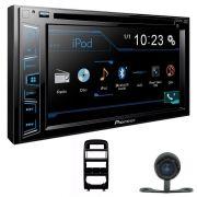 Dvd Pioneer Avh-298bt +Moldura Dvd 2 Din Astra A/c Digital